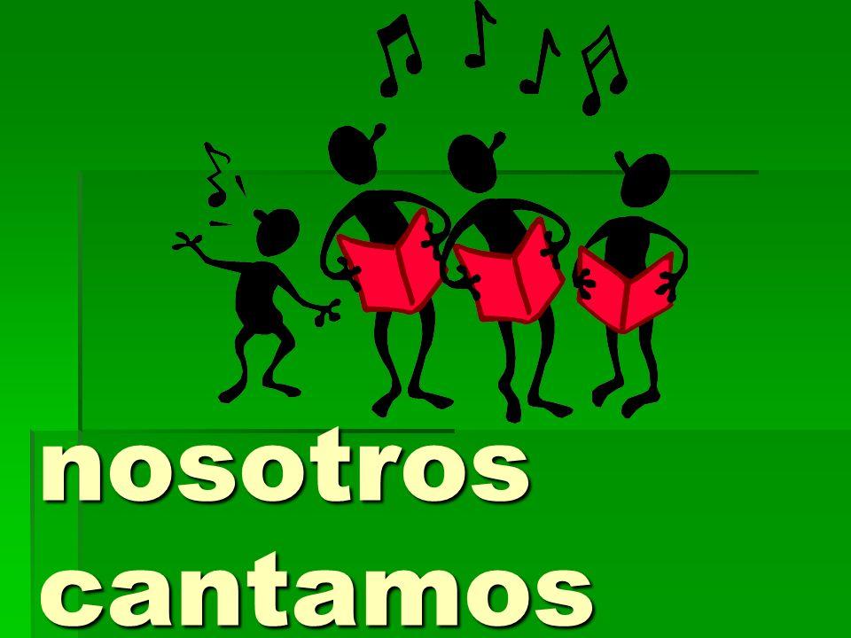 CANT AMOS we sang