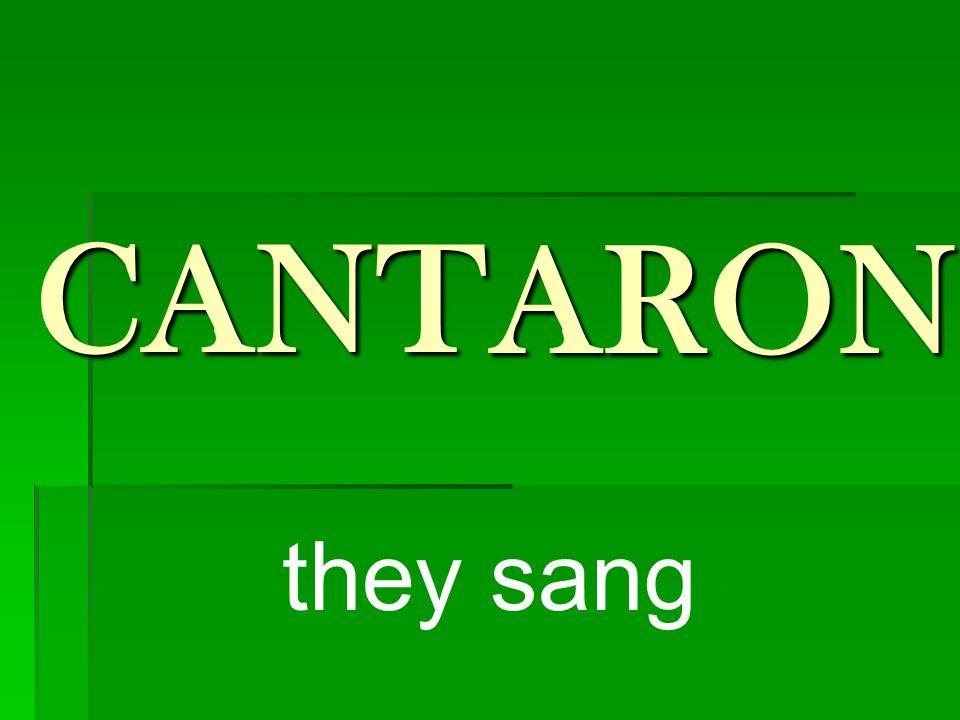 nosotros cantamos