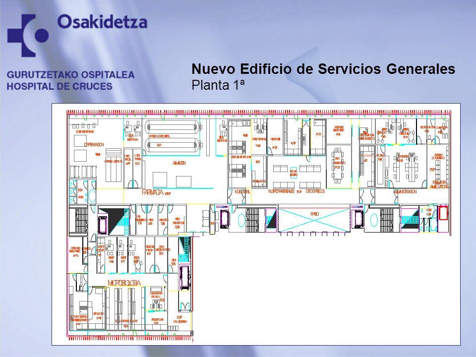 Nuevo Edificio de Servicios Generales Planta 1ª