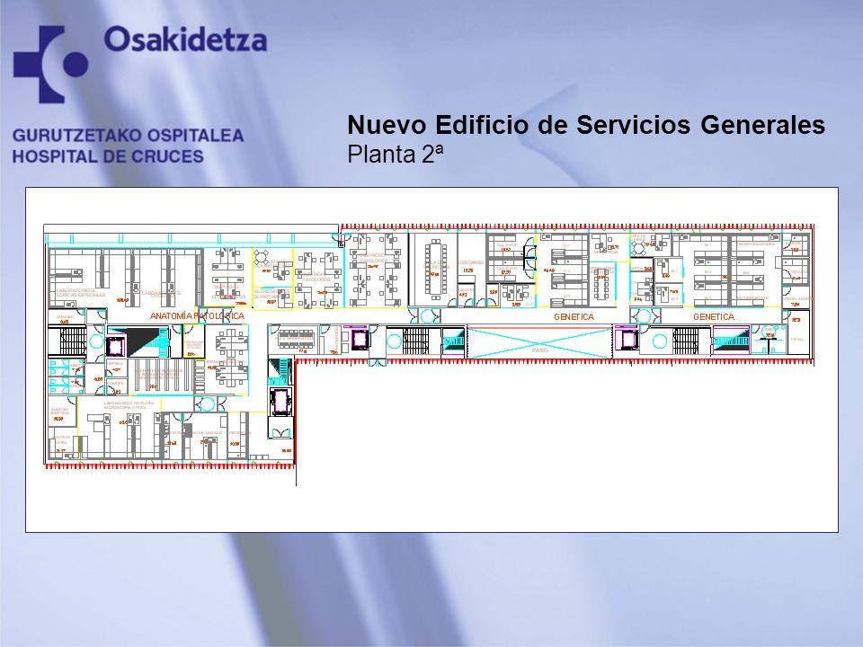 Nuevo Edificio de Servicios Generales Planta 2ª