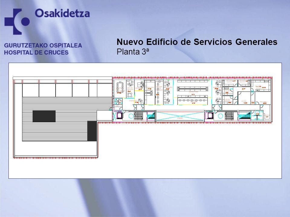 Nuevo Edificio de Servicios Generales Planta 3ª