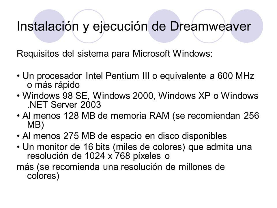 Requisitos del sistema para Microsoft Windows: Un procesador Intel Pentium III o equivalente a 600 MHz o más rápido Windows 98 SE, Windows 2000, Windo