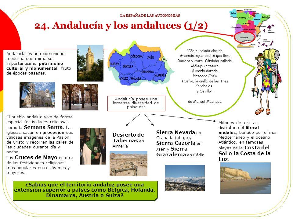 Cádiz, salada clarida.Granada, agua oculta que llora.