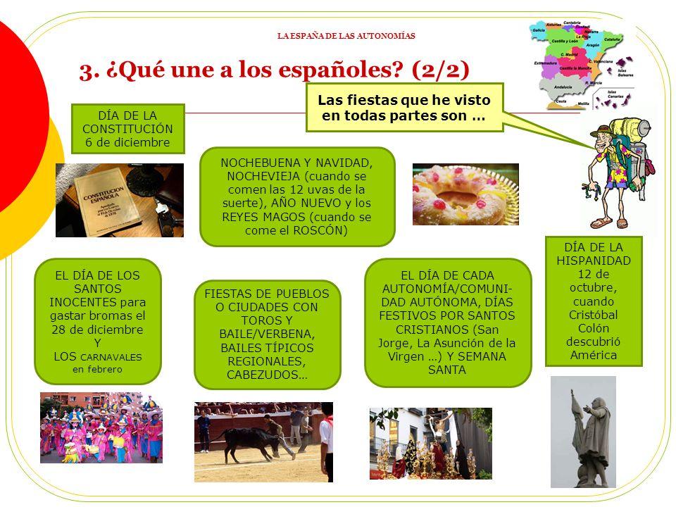 Todos los españoles hablamos castellano. Respetamos los derechos y deberes de la Constitución. ¡Y casi siempre hay una Plaza de España y una Plaza de
