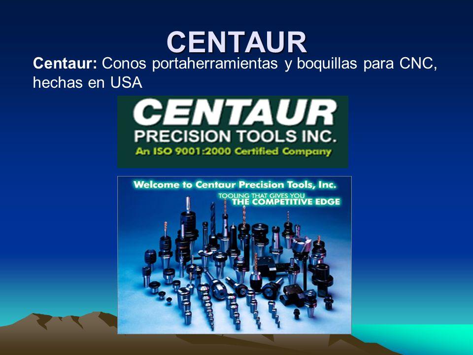 CENTAUR Centaur: Conos portaherramientas y boquillas para CNC, hechas en USA