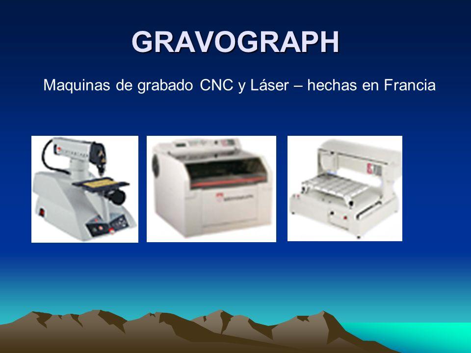 GRAVOGRAPH Maquinas de grabado CNC y Láser – hechas en Francia