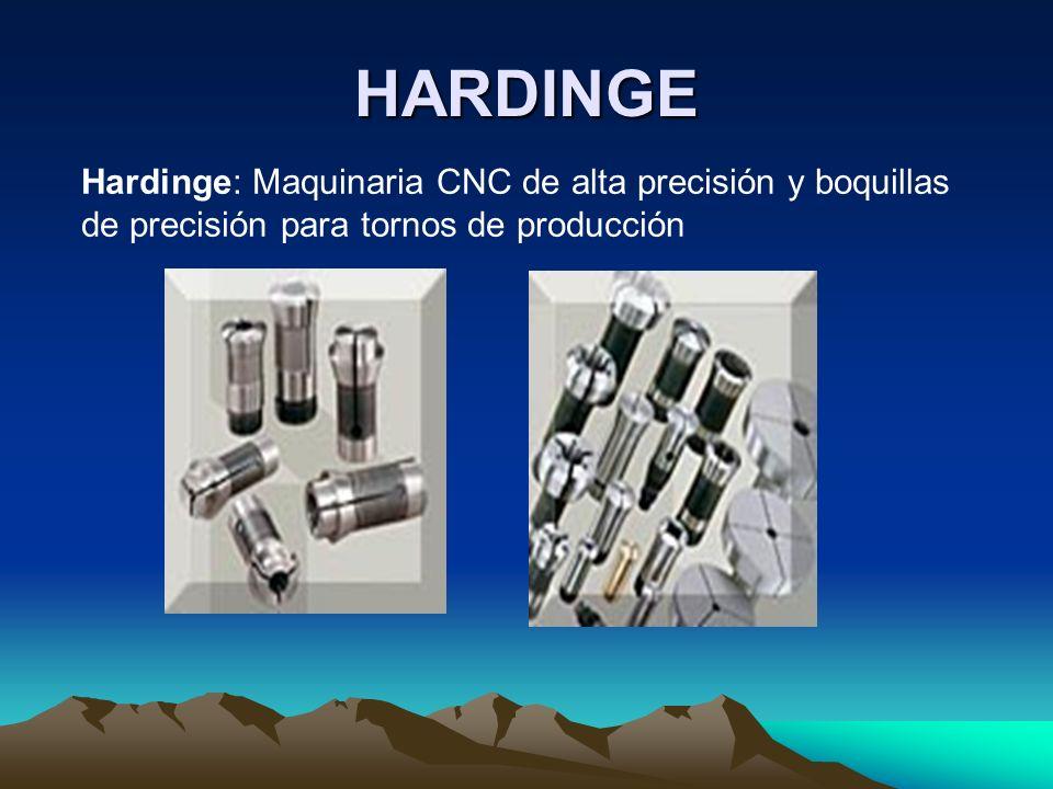 HARDINGE Hardinge: Maquinaria CNC de alta precisión y boquillas de precisión para tornos de producción