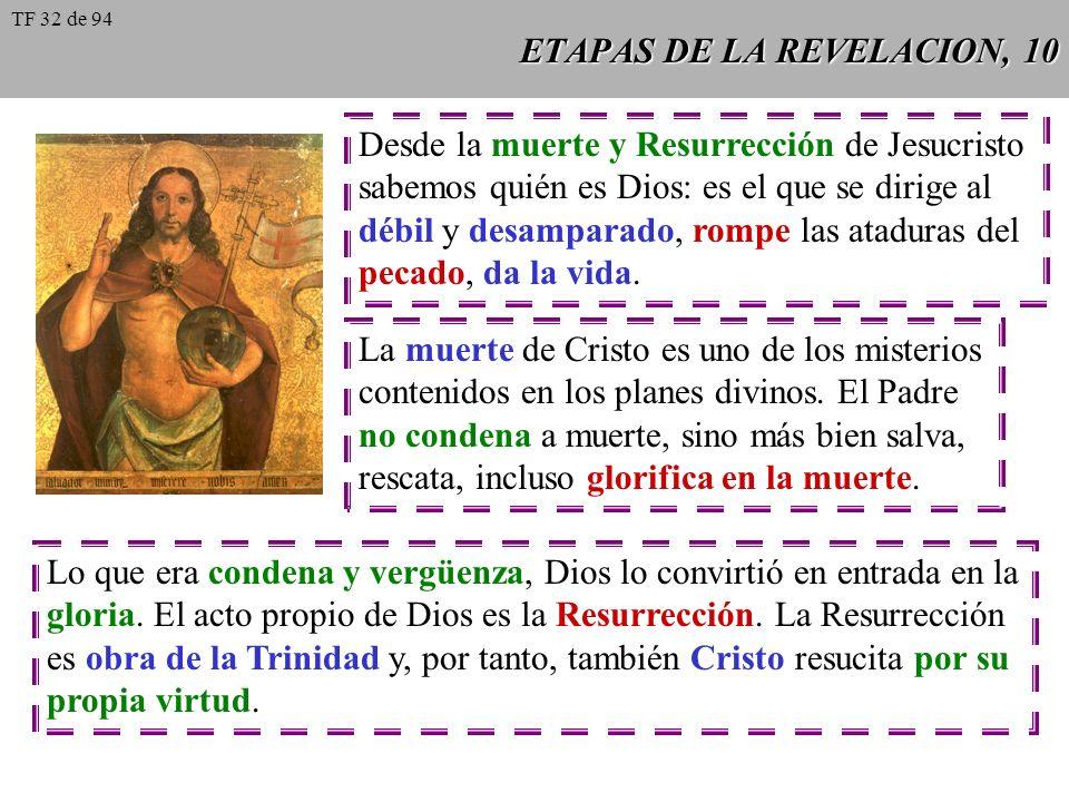 ETAPAS DE LA REVELACION, 9 La redención no es un frío negocio jurídico, según el cual se deba realizar un sacrificio para calmar a una majestad ofendi
