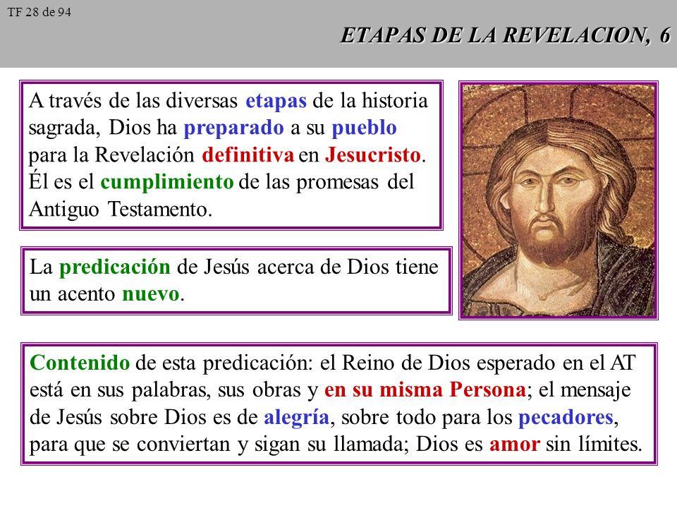 ETAPAS DE LA REVELACION, 5 Con frecuencia Israel abandona al único Dios vivo y se olvida del precepto fundamental de su ley, para adorar a los ídolos