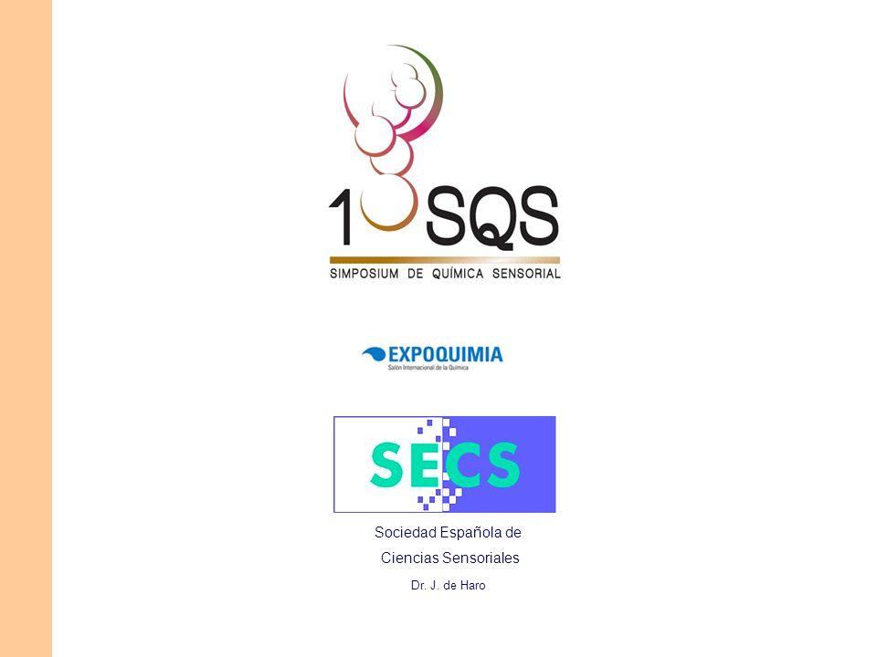 Sociedad Española de Ciencias Sensoriales Dr. J. de Haro