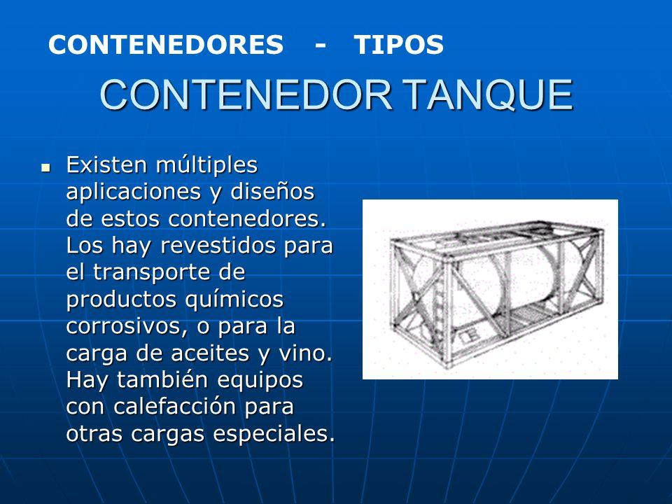 CONTENEDOR GRANELERO Contenedor con tomas superiores para la carga y en los extremos compuertas para el vaciado por precipitación de la mercancía. Rev