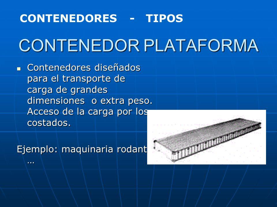 CONTENEDOR TANQUE Existen múltiples aplicaciones y diseños de estos contenedores. Los hay revestidos para el transporte de productos químicos corrosiv