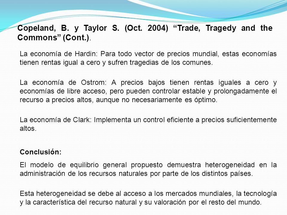 Nueva Ola 1.Teóricos Kotchen, M.y Salant S.