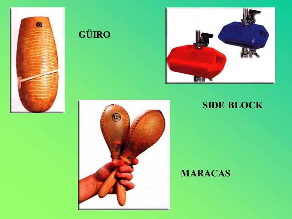 GÜIRO MARACAS SIDE BLOCK