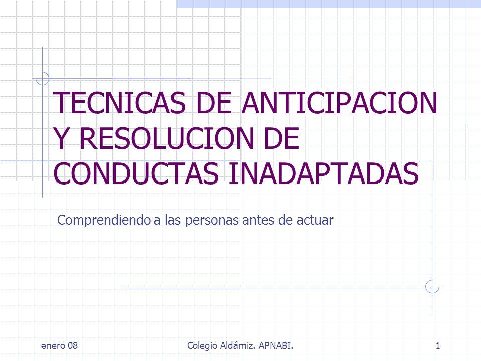 enero 08Colegio Aldámiz.APNABI.12 FACTORES BIOLOGICOS FRECUENTES: Fenotipos específicos.