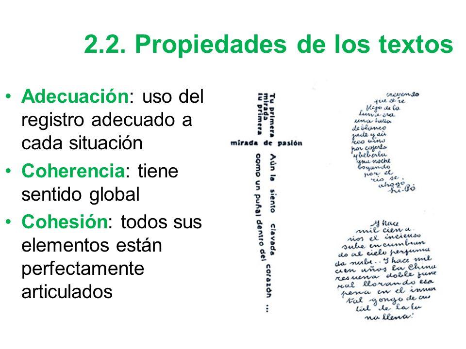 """La presentaci�n """"Tipos de texto (Repaso de 1�). 1. El proceso de ..."""