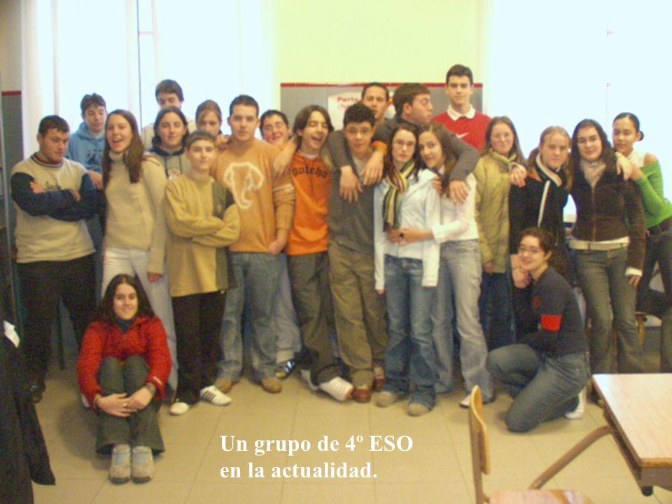 Un grupo de 4º ESO en la actualidad.