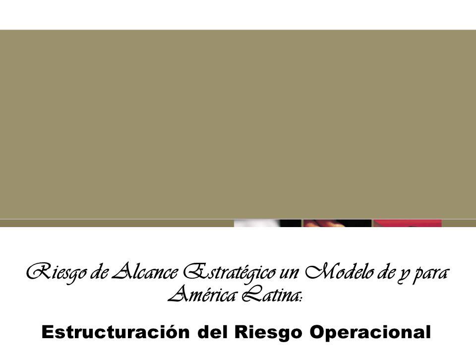 Escuela Estratégica o de Procesos Origen Basilea II y Latinoamérica Esfuerzo Organizacional y de Consultores Objetivo encontrar un camino al riesgo operacional.
