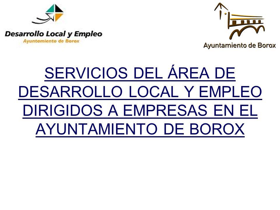 1.BOLSA DE EMPLEO 2.RECOGIDA DE LAS OFERTAS 3.GESTIÓN DE LAS OFERTAS 4.ANÁLISIS DE LOS DATOS REGISTRADOS EN LA BOLSA DE EMPLEO 5.SERVICIO DE ASESORAMIENTO TÉCNICO DE EMPRENDEDORES