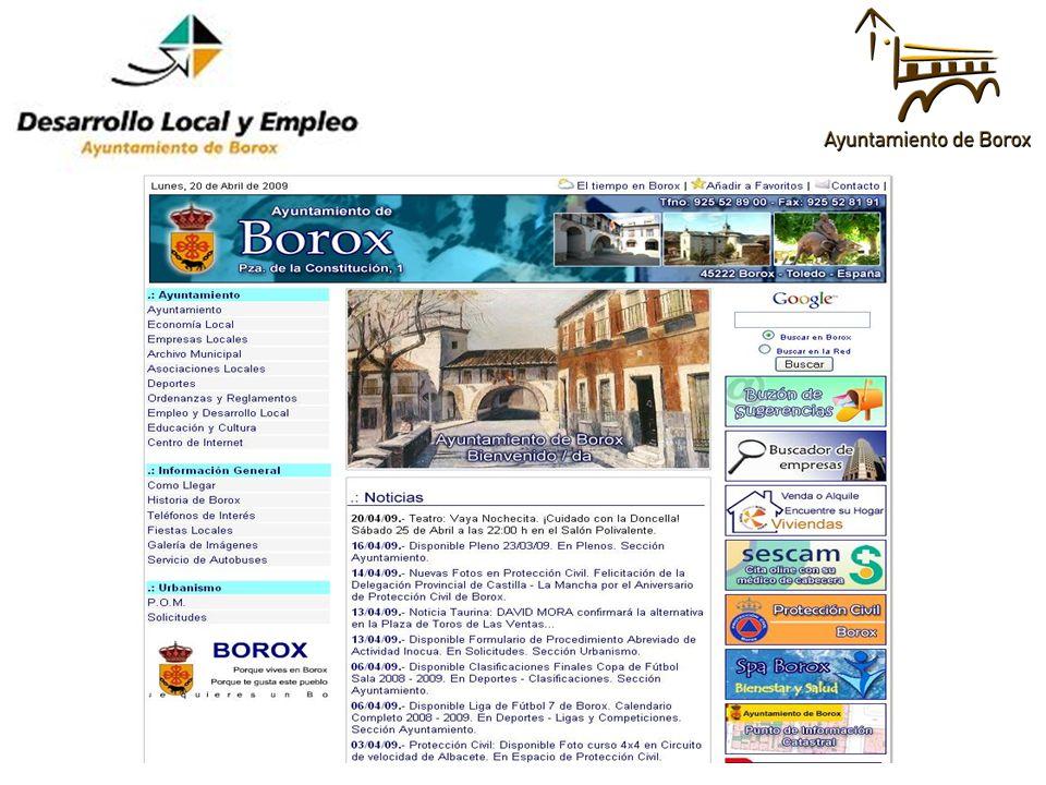 El 51´85% de las ofertas son realizadas por empresas de los municipios de alrededor.