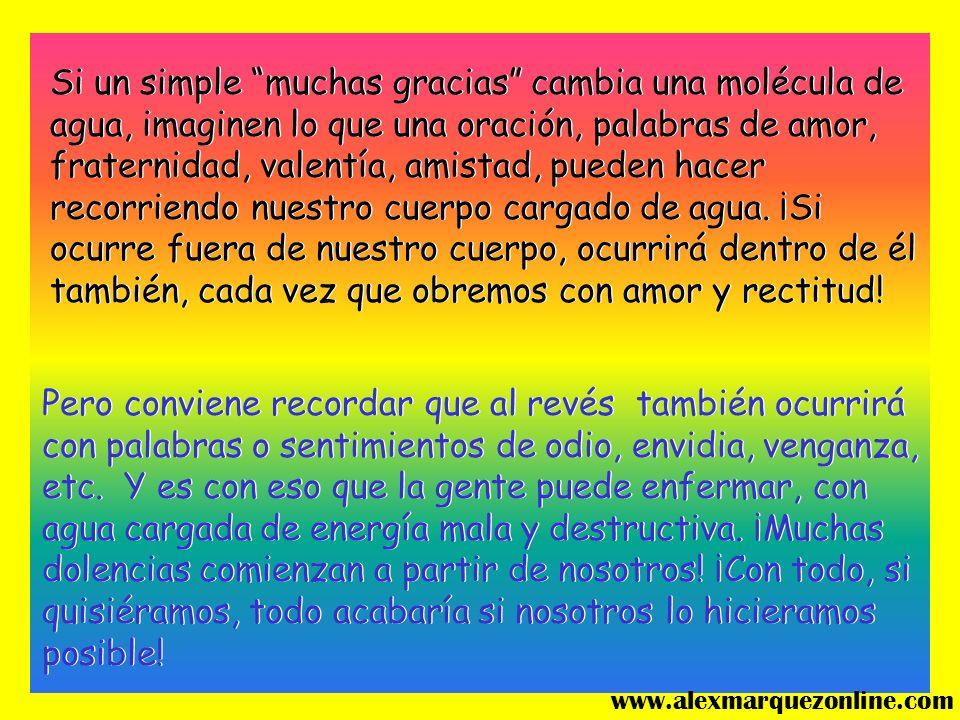Amor, no dejes que nadie olvide que nosotros, seres humanos, estamos compuestos de um 70% de agua! www.alexmarquezonline.com