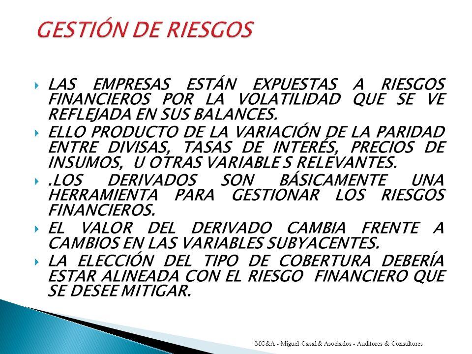 NORMATIVA CONTABLE APLICABLE MC&A - Miguel Casal & Asociados - Auditores & Consultores RT 18/20 NIC 32 NIC 39 NIIF 7 NIIF 9