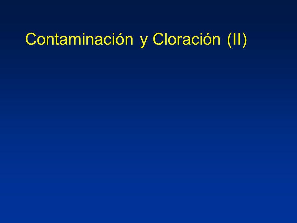 Contaminación y Cloración (II)