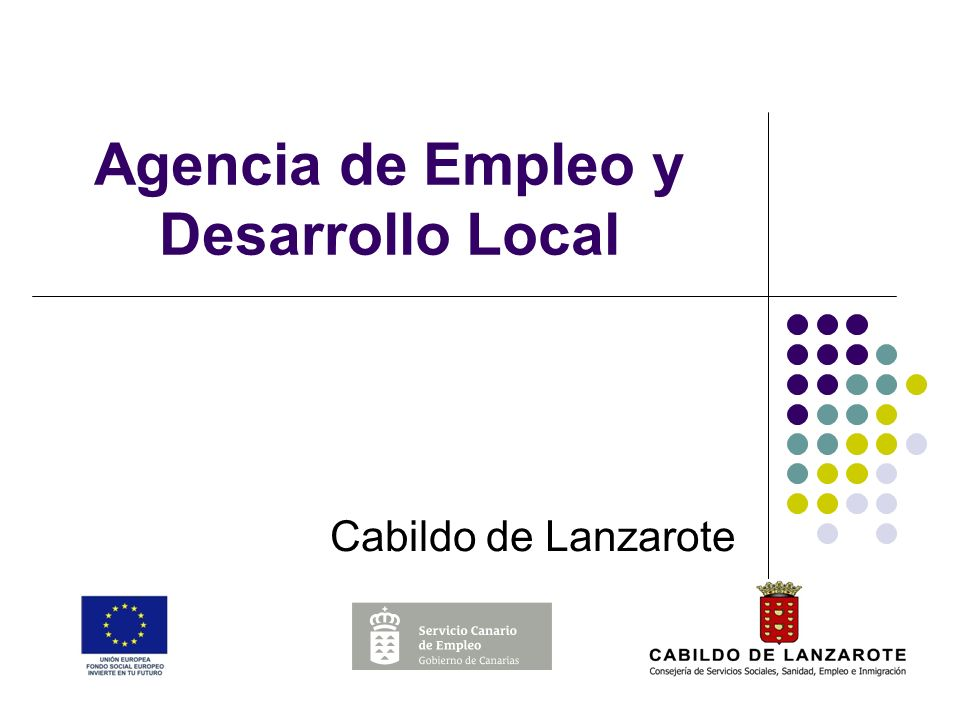Agencia de Empleo y Desarrollo Local Cabildo de Lanzarote