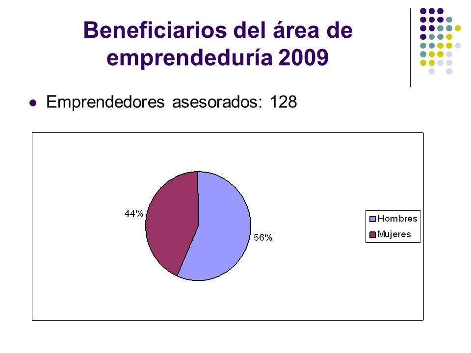 Asesoramiento en materia de subvenciones 2009 Asesoramientos realizados: 194