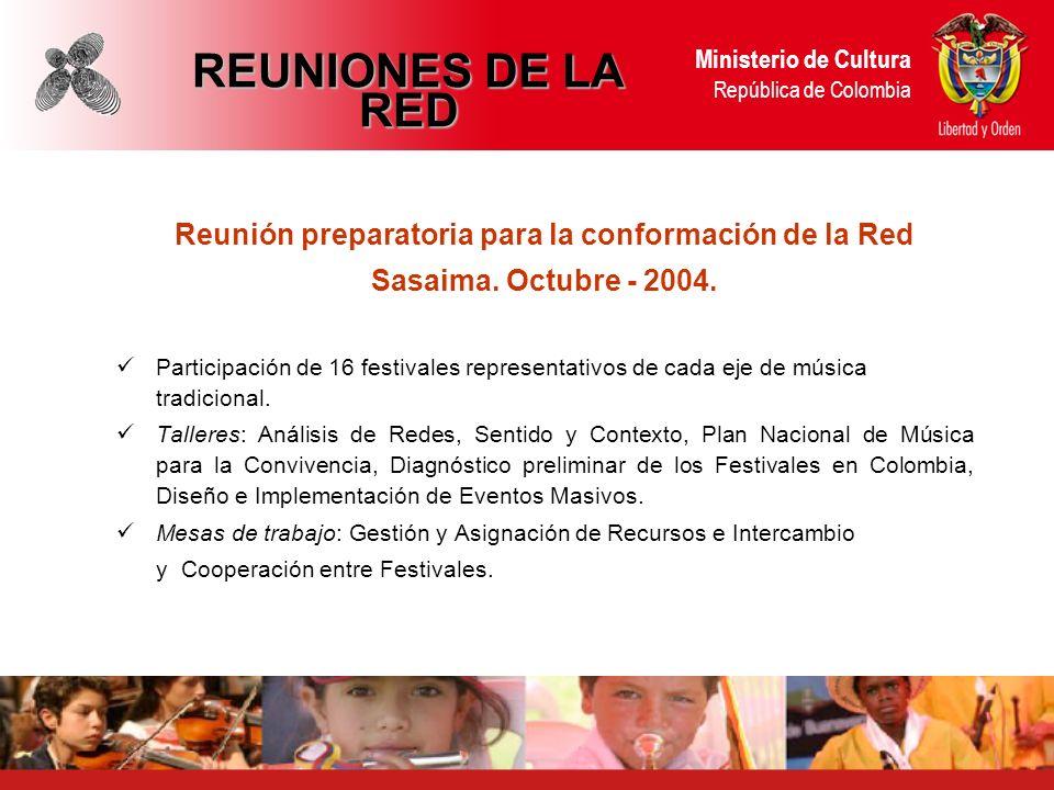Reunión preparatoria para la conformación de la Red Sasaima.