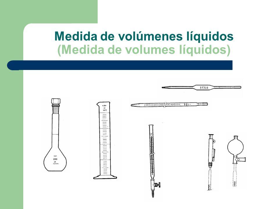 Medida de volúmenes líquidos (Medida de volumes líquidos)