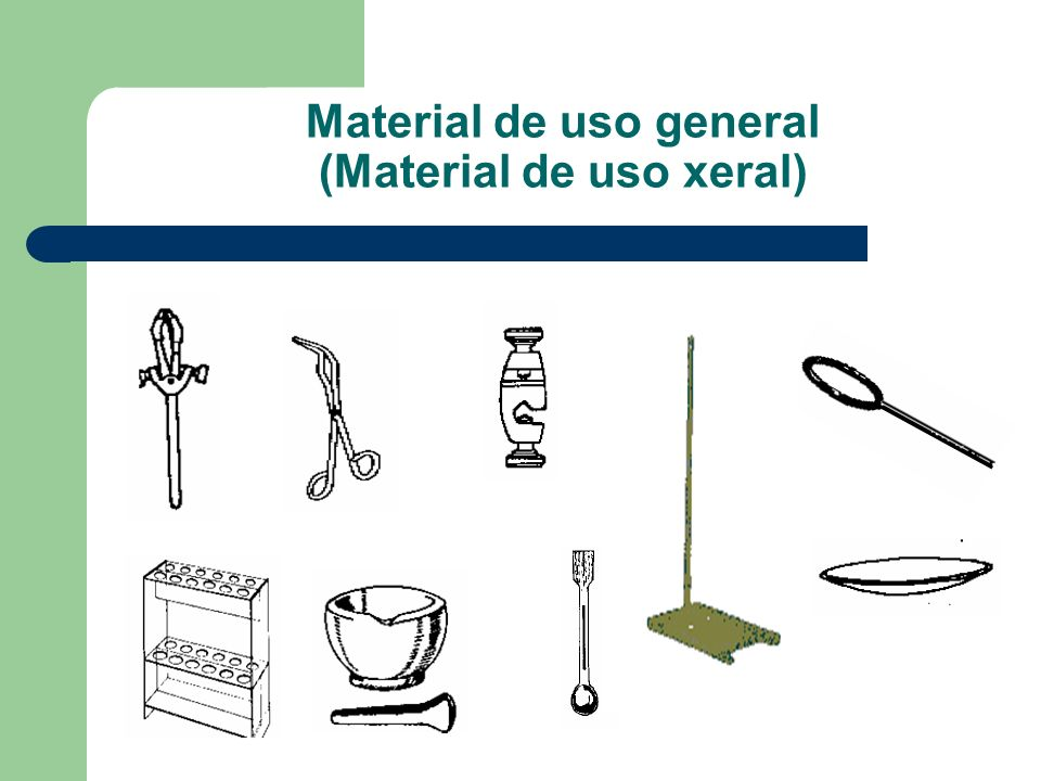 Material de uso general (Material de uso xeral)