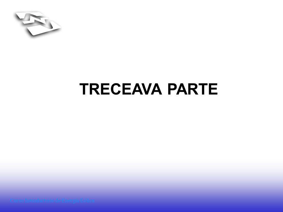 Curso Introductorio de Energía Eólica TRECEAVA PARTE