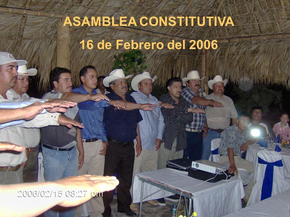 ASAMBLEA CONSTITUTIVA 16 de Febrero del 2006