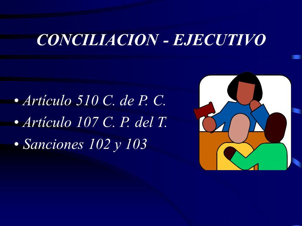 CONCILIACION JUDICIAL -Obligatoria. - Presunción de ser ciertos hechos. -Sanción Apoderado