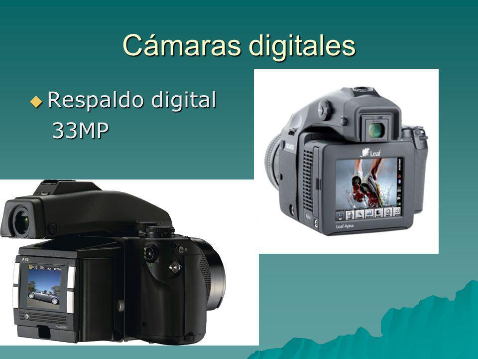 Cámaras digitales Respaldo digital Respaldo digital 33MP 33MP