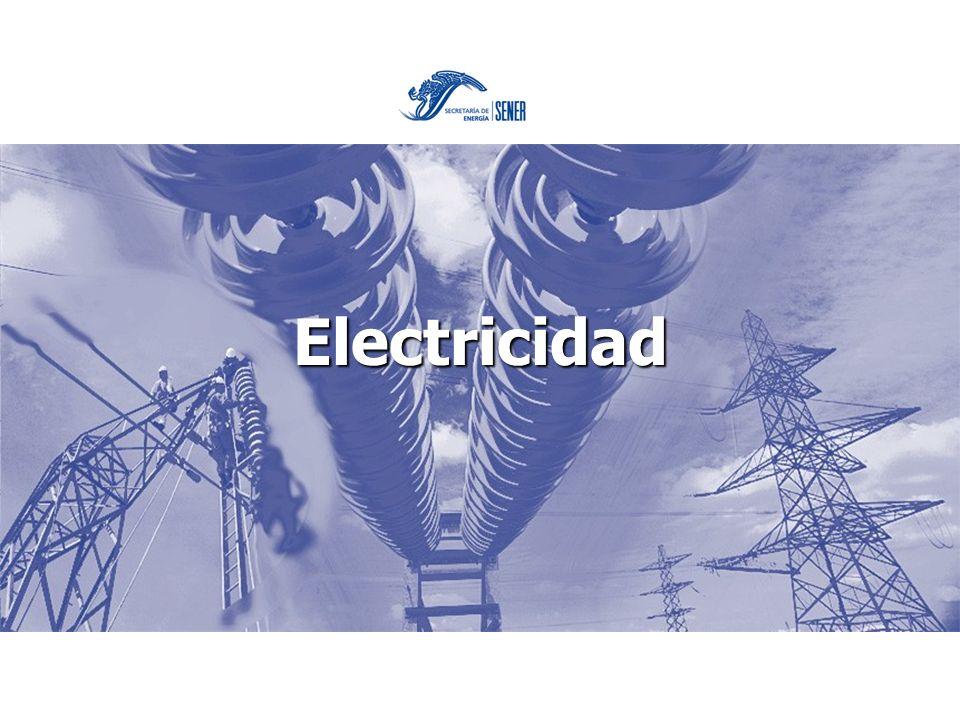 Importancia del sector eléctrico La electricidad es un detonador de desarrollo y progreso
