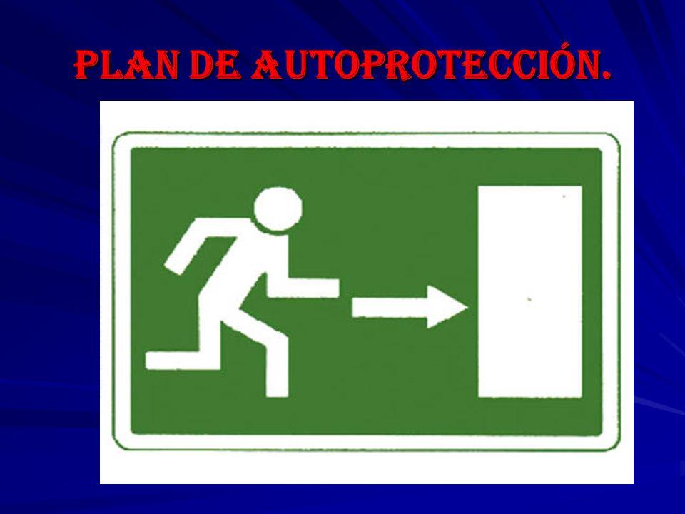 Plan de autoprotección.