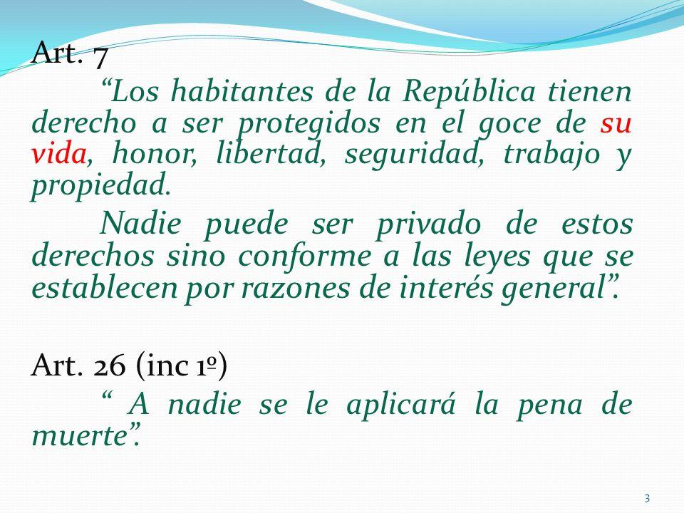 1) ¿Existe una consagración explícita del derecho a la vida en la Constitución? 4