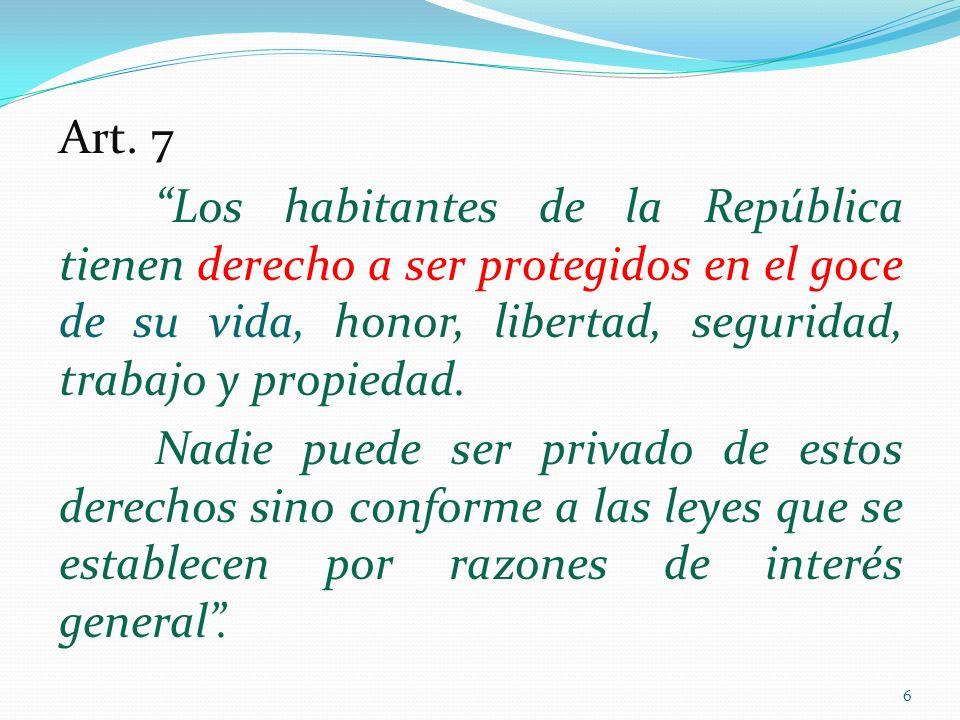 Pacto de San José de Costa Rica Artículo 2.