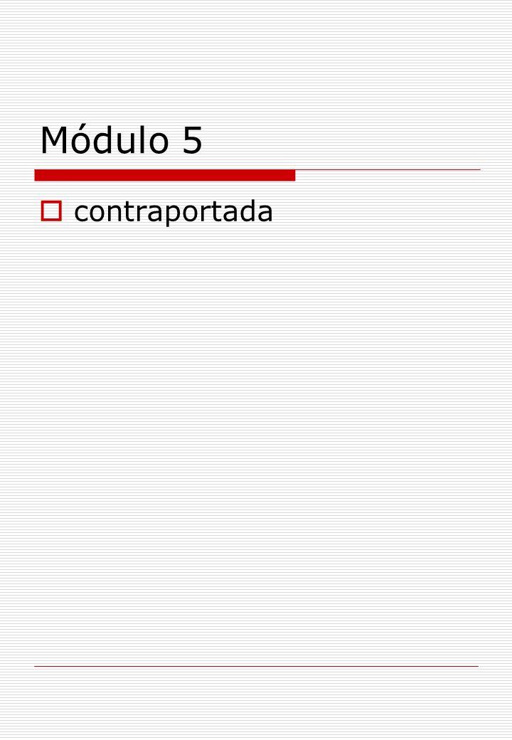 Módulo 5 contraportada