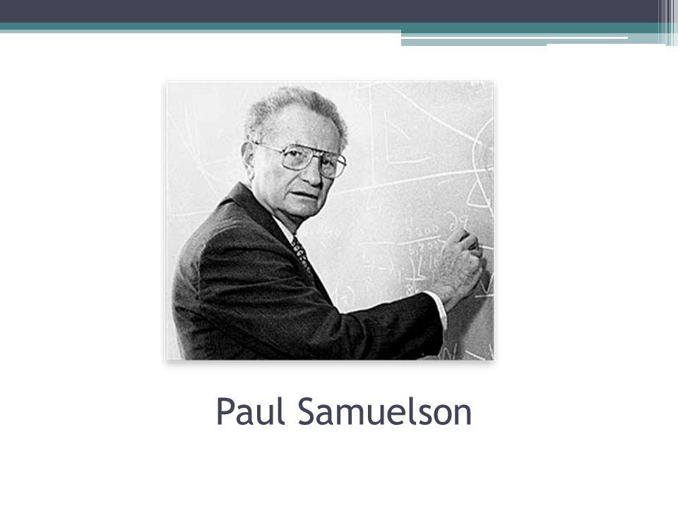 Paul Samuelson