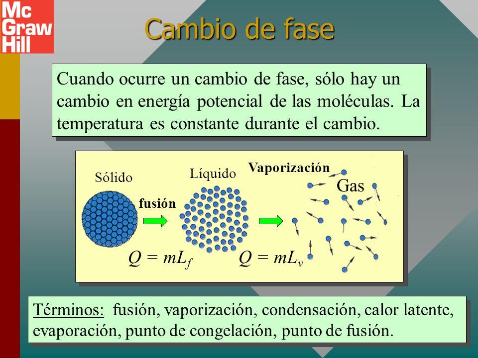 m s = 95.4 g m s (390 J/kgC 0 )(72 C 0 ) = (0.080 kg)(4186 J/kgC 0 )(8 C 0 ) m s c s (90 0 C - 18 0 C) = m w c w (18 0 C - 10 0 C) perdigón a 90 0 C a