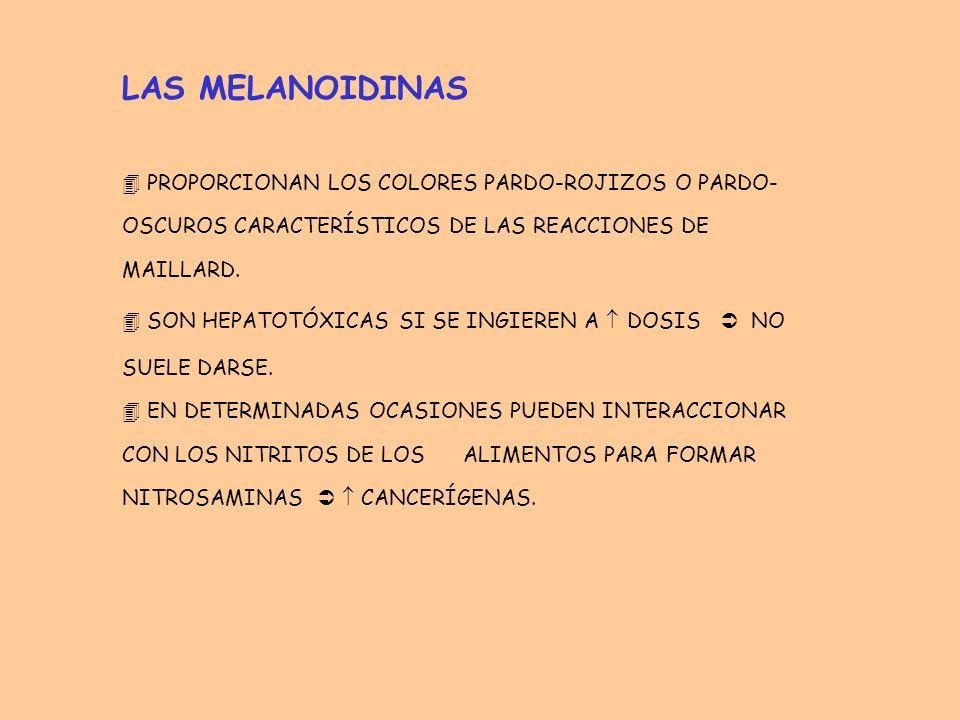 MEDIDAS PARA EVITAR LAS REACCIONES DE MAILLARD EN LA MANIPULACIÓN Y ALMACENAMIENTO DE ALIMENTOS 1) DISMINUCIÓN DEL PH pH básico cataliza enolizaciones y rupturas.
