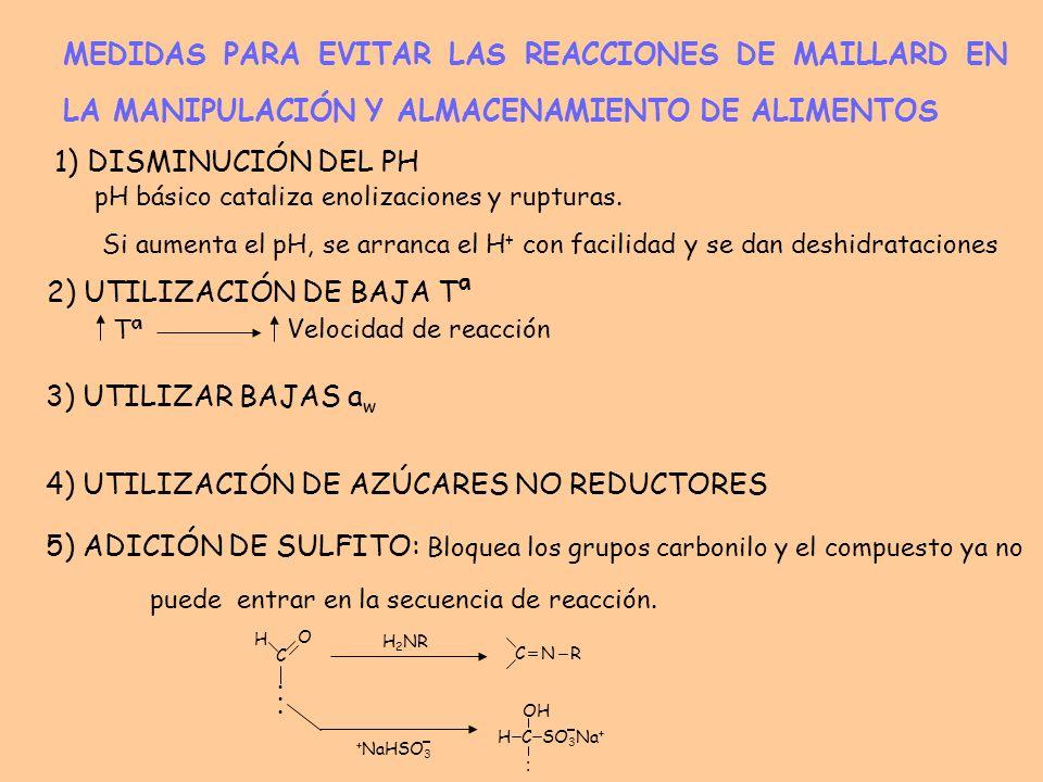 REACCIONES DE MAILLARD DESEADAS 4 En muchas ocasiones las reacciones de Maillard son deseables y se realizan a nivel industrial.