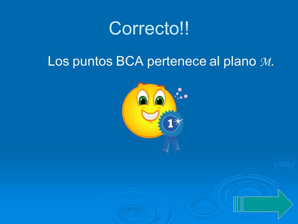 Solución de problemas b. Plano M Sean los puntos A, B y C del plano M. Utiliza estas letras en orden diferente para nombrar el plano. A C B M 1)YJ 2)C