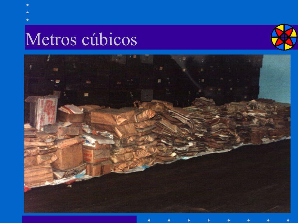 Metros cúbicos