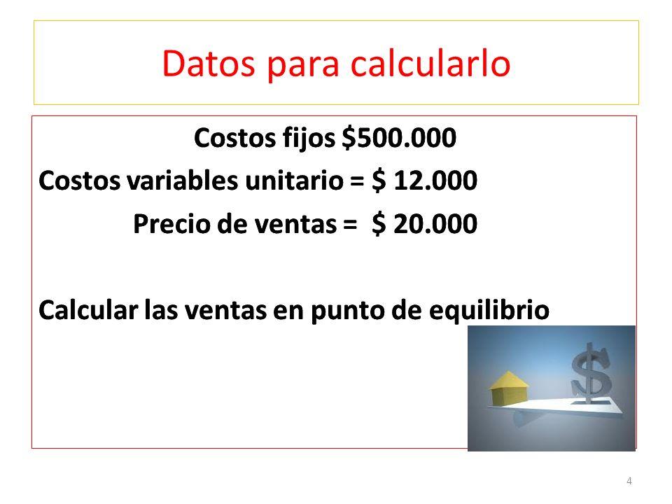 APALANCAMIENTO OPERATIVO GAO = V - CV V- CV – CF G AO = 1.600.000 - 960.000 1.600.000-960.000-500.000 G A O = 640.000 140.000 GAO = 4,57 Significa que si duplicamos las ventas en un 100%, las utilidades crecen 4,57 veces, es decir 457% 15
