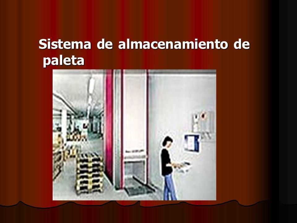 Sistema de almacenamiento de paleta Sistema de almacenamiento de paleta