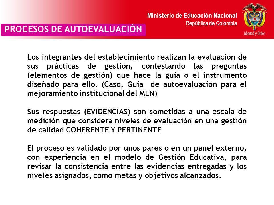Ministerio de Educación Nacional República de Colombia Incrementa desarrollo profesional Es un esfuerzo colectivo: todos deben tener la oportunidad de